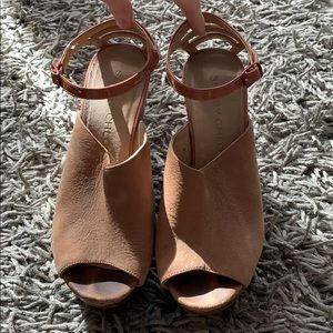🌸 See By Chloe Ankle Strap Wedge Sz- 38.5 🌸